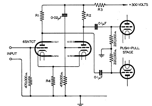 Cathode and Anode Coupled Phase Inverter Diagram