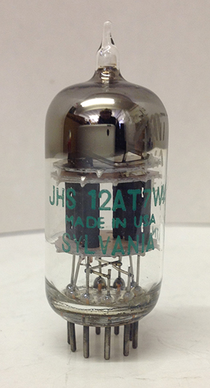 Photo of Sylv 3 Mica Sqgetter ECC81/12AT7 Electron Tube / Double Triode